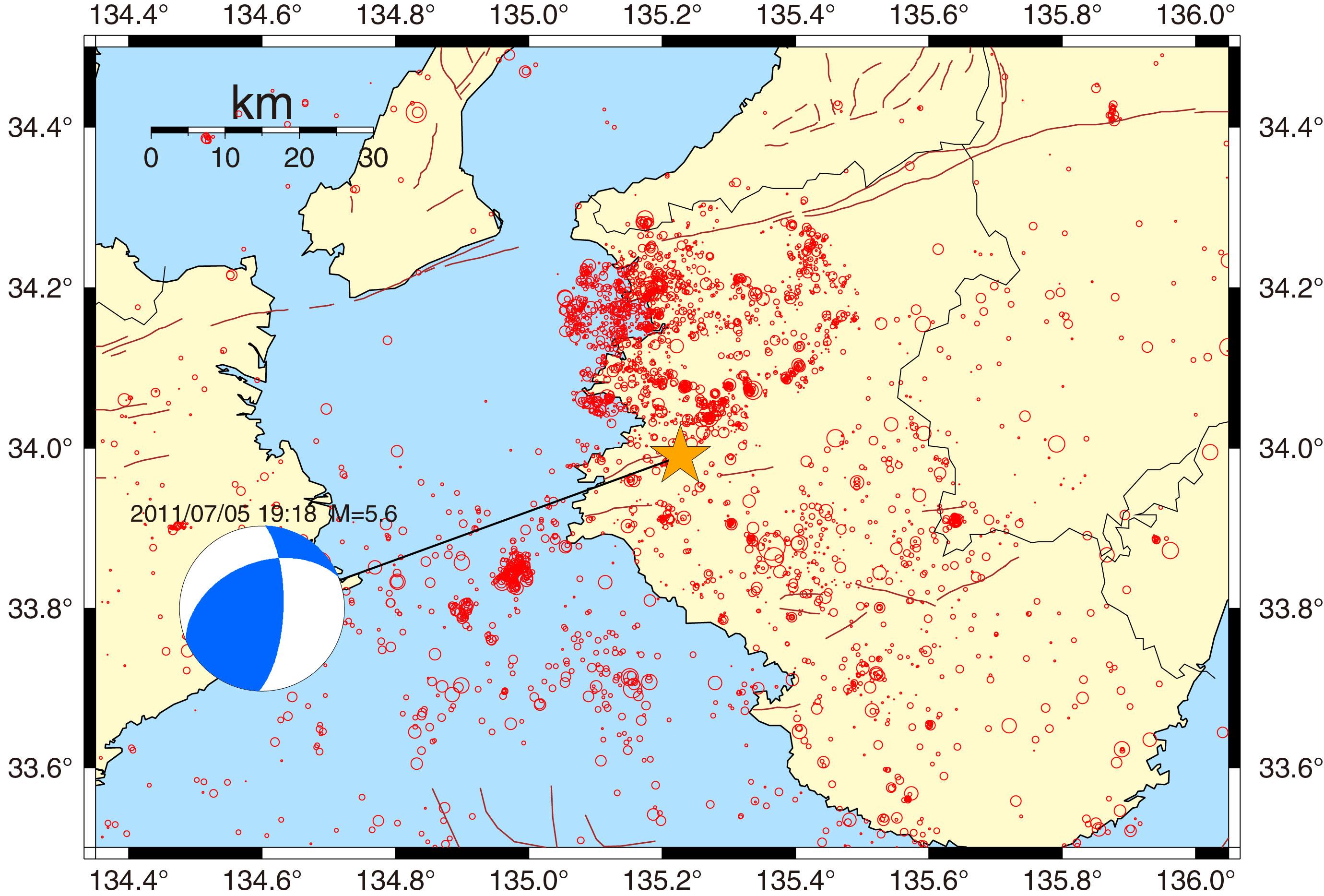 速報 和歌山 地震